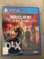Sherlock Holmes / PS4 video game / play station