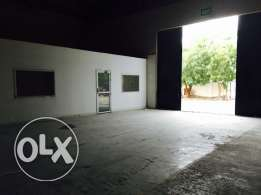 very spacious warehouse with office spaces at ghala only on 3riyal/sqm