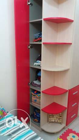 4 door kids wardrobe مسقط -  1