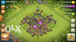 Clash of clans town hall 7 for buy