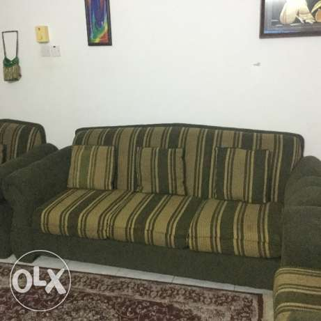 Sofa set and center,side table