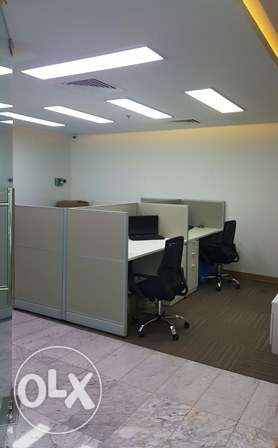 132SQM Fully Furnished Office Space FOR RENT Al Khuwair Jasmine pp91