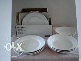 2 Brand new Dinner plates sets from IKEA for Sale