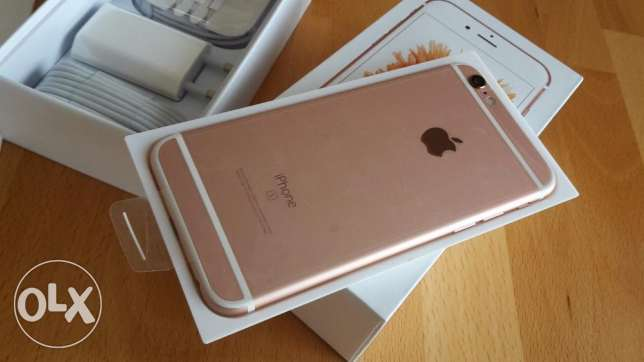 iPhone 6s / rose gold