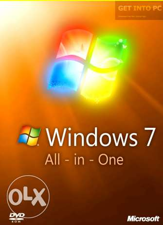 Windows 7 all in one with code