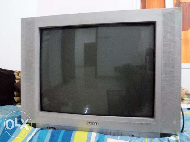 used napro tv + used smart receiver