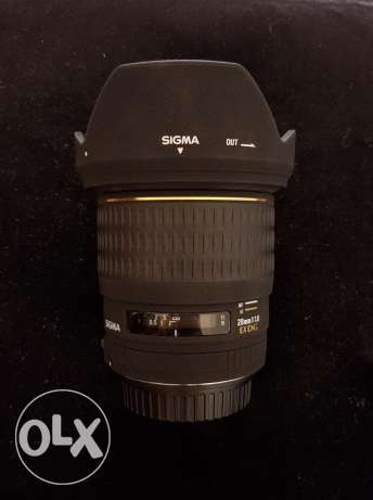 Sigma 28mm 1.8 for canon