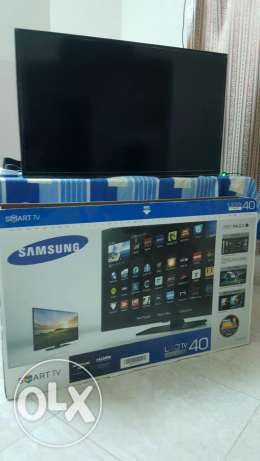 samsung 40 inches led smart rarely used for sale