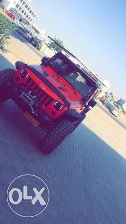 For sell Jeep wrangler 2013 GCC