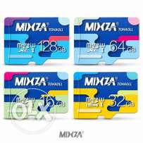 MIXZA 128GB Micro SD Memory Card - Data Storage TF Cards
