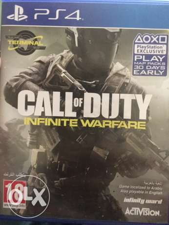 ps4 call of duty infinite warfare 12 rials