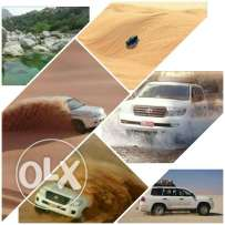 Land transport and holidays touri in oman dasert safari and
