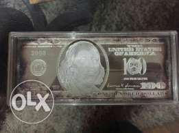 Antique Dollar Silver plated brought From USA in 2003