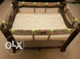 Graco Pack n' Play On The Go Travel Cot with Mattress