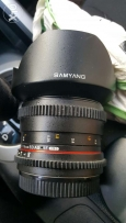 Canon mount Samyang Cinelens 14mm T/3.1 ED AS IF