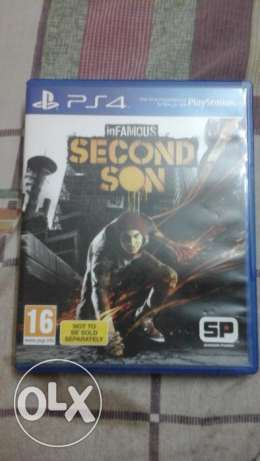 Infamous second son ps4 game for sell