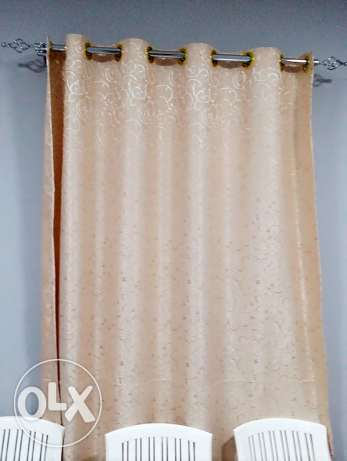 2 Brand new curtains used just 2 weeks