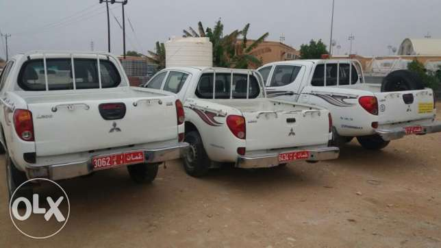 MITSHIBISHI L200 pickups on sale - 3No at OMR 4000. مسقط -  2