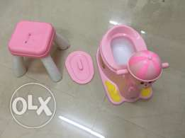 New potty and free stool