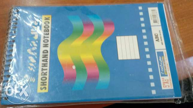 Writting note book 75 pcs packed مسقط -  1