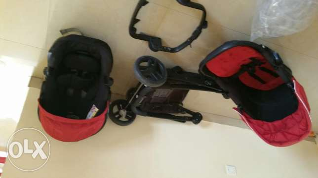 EvOgracco travel system full set
