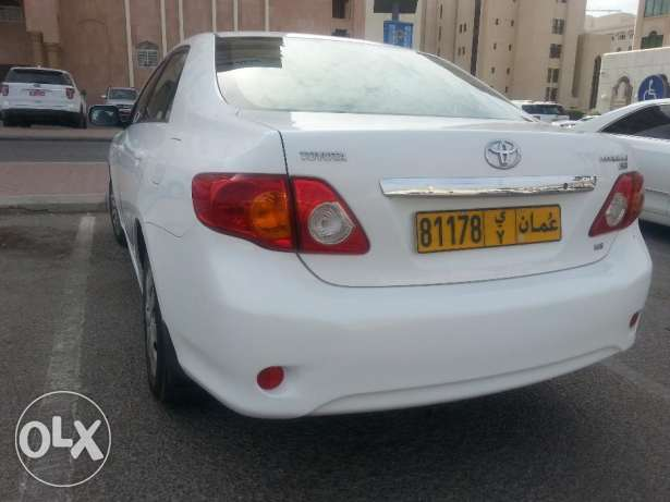 2009 corolla 1.6 automatic gear مسقط -  1