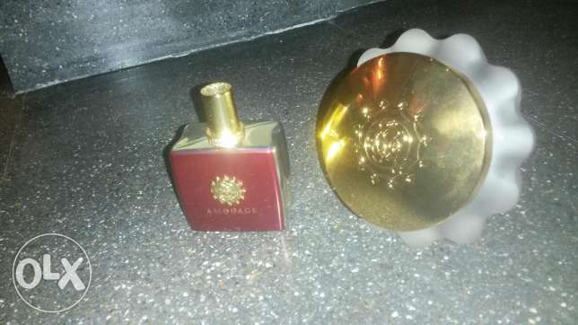 Amouage perfume for sale with body cream مسقط -  1