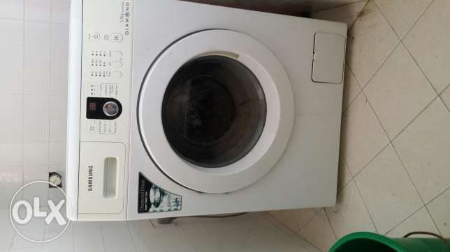 Washing machine front loaded samsung