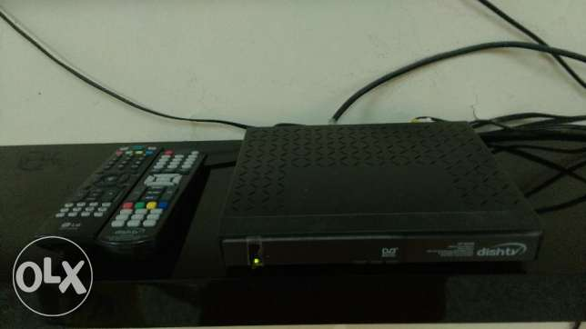 "LG TV LCD 42"" inch+ antina+dish TV setup box مسقط -  2"