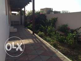 y1 Furnished villa for rent in boshar in a compound