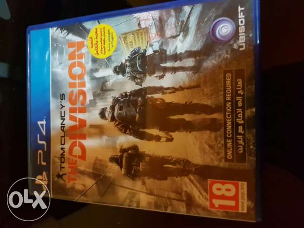 The division for ps4 مسقط -  1