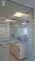 Office,Shop,Saloons,Restaurants Decor & Complete glass & Carpentry