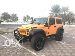 Jeep Wrangler 2012 modified... Brand new tires and fully serviced