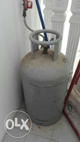 Gas cylinder for sale.