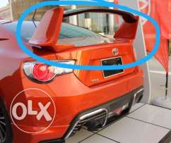 Toyota 86 Aero Spoiler Orange
