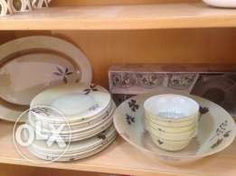 Dinner set Pyrex