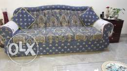 Sofa set in excellent condition for sale.