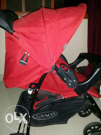 Stroller. Car seat. Bouncer. Baby's Carrier