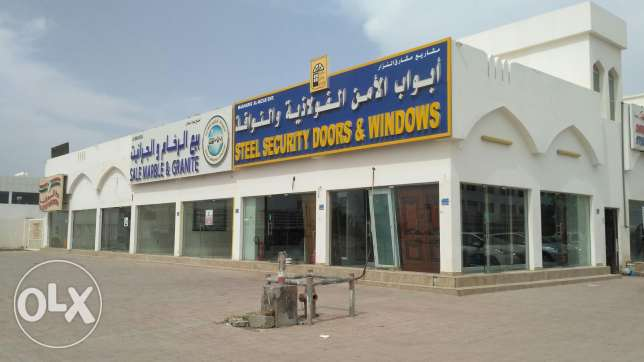 Shops for RENT in Al Maabilah 5 ( Industrial Area)