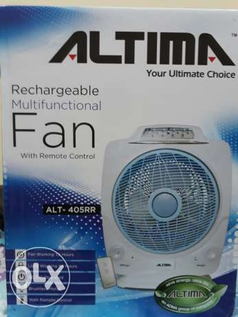 Recharge able fan new