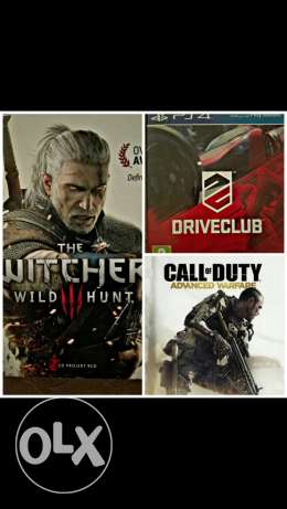Uncharted 15 The witcher 3 12 Call of duty 8 Drive club 8. استعمال قل