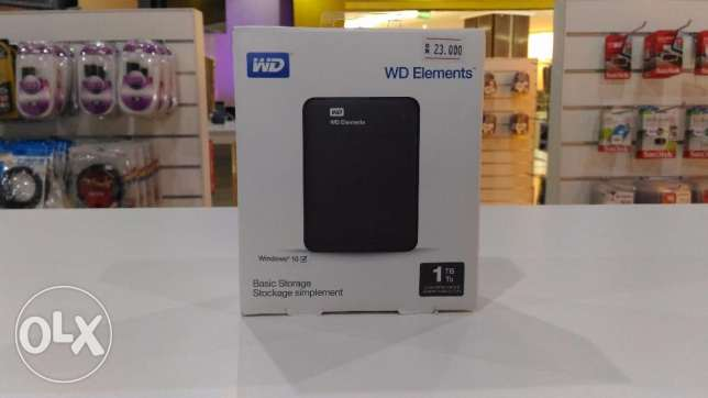 External HDD WD Elements 1TB القرم -  1