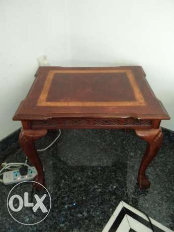Wooden Side tables (2 Nos.) with a cool design مسقط -  1