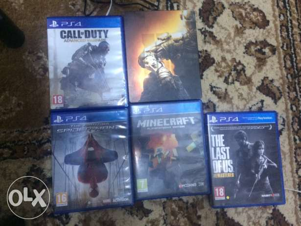 Top PS4 games for sale!! مسقط -  1