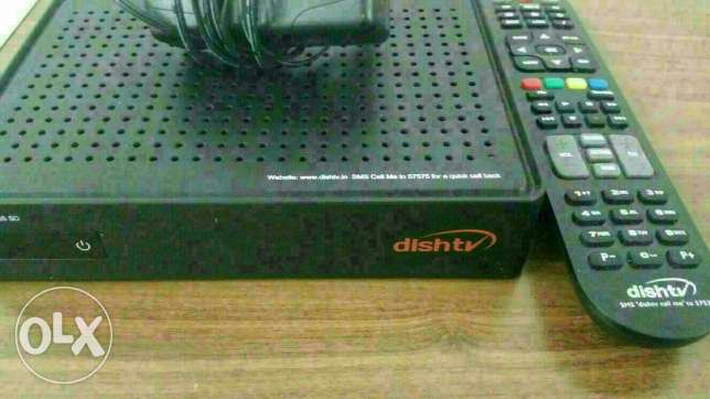 Dish Tv and remote