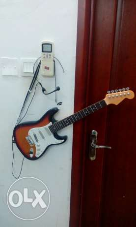 Guitar beautiful and stylish battery operated( new) with box