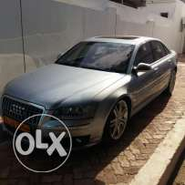 Audi S8 - 10 cylinder 2007 model 100000 KM in good condition