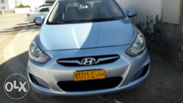 hyundai accent for sale in good condition السيب -  5