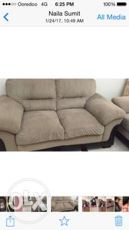 Sofa from centre points 3 +2 seater