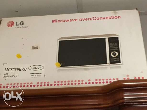 Lg microwave oven with steaming facility